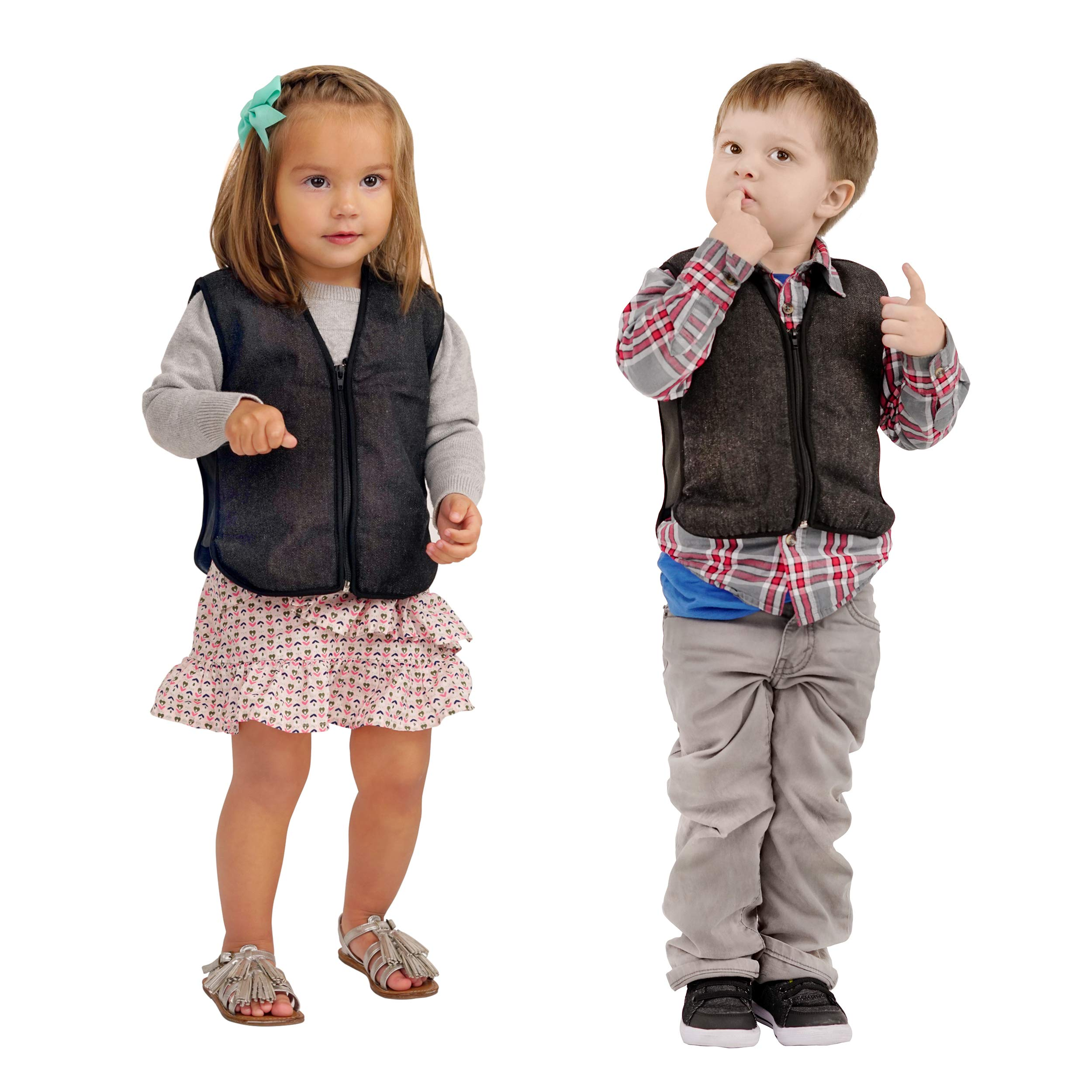 ZooVaa Weighted Vest for Kids - Children's Weighted Compression Vest with Removable Weights - by ZooVaa (Small) by ZooVaa