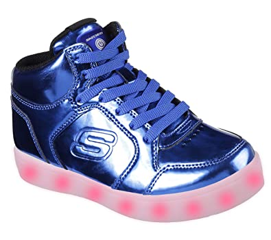 buy popular 244bd 4d8d1 Skechers Kids Energy Lights Eliptic Sneaker,1 M US Little Kid,Royal