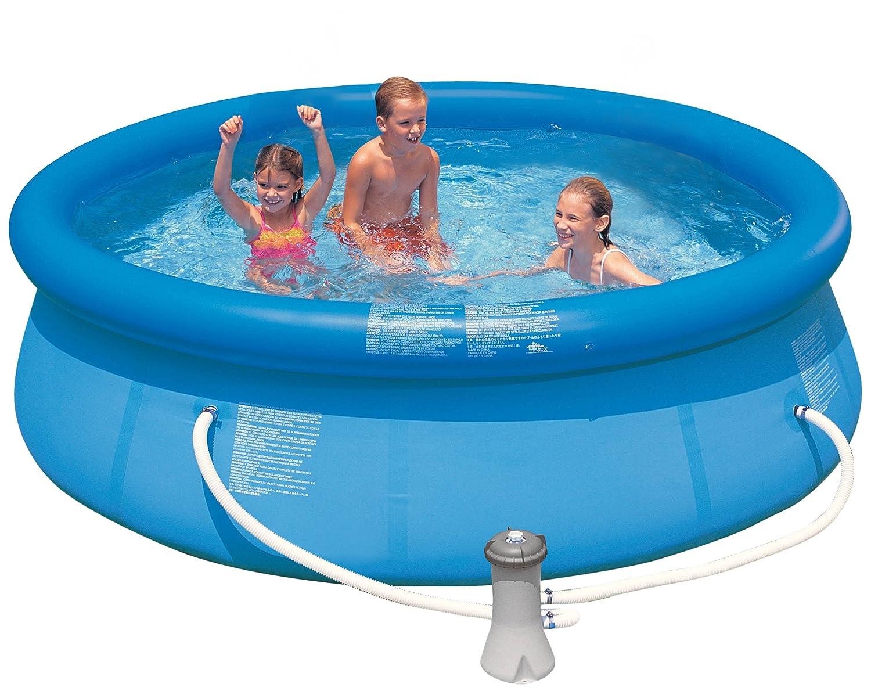 Intex 10 Feet X 30 Inch Easy Set Pool Amazon In Garden Outdoors