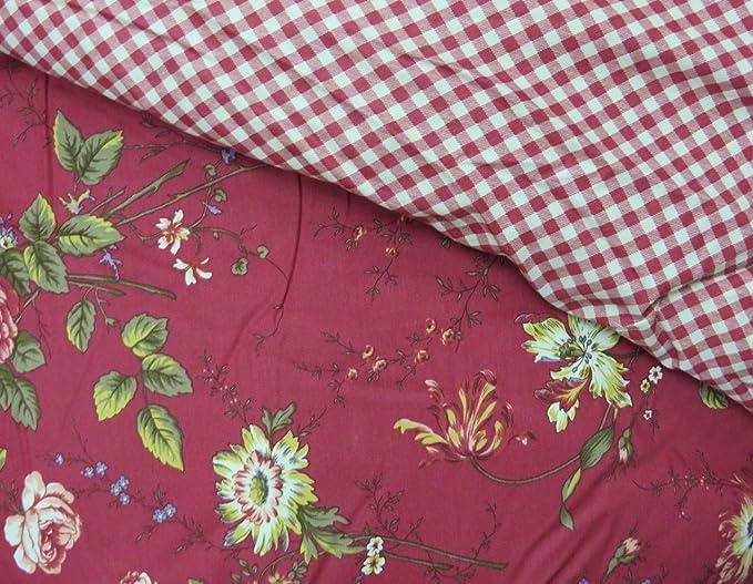 Amazon.com: Ralph Lauren Longmeadow St. Germain Red Queen Comforter 4-pc Set: Home & Kitchen