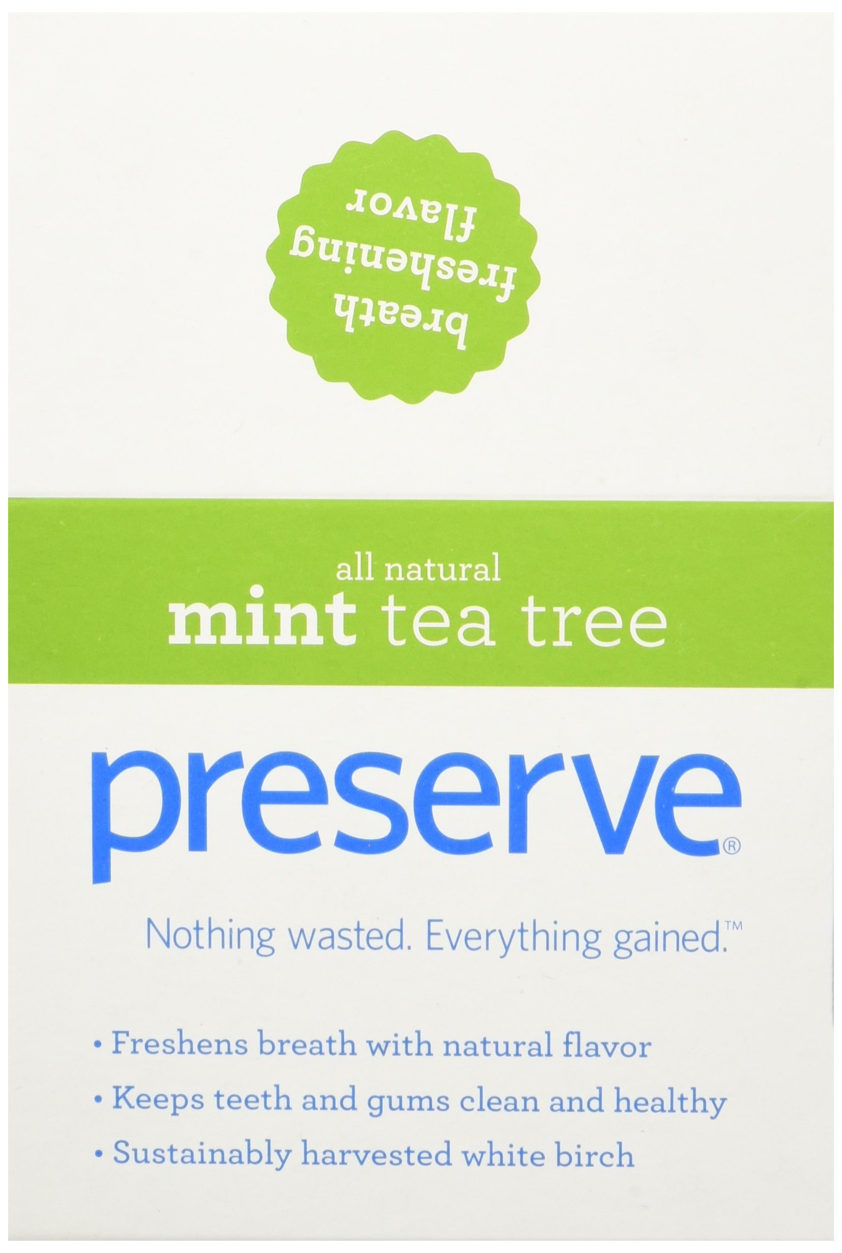 Preserve Toothpicks, Mint Tea Tree, 24 canisters by Preserve (Image #2)
