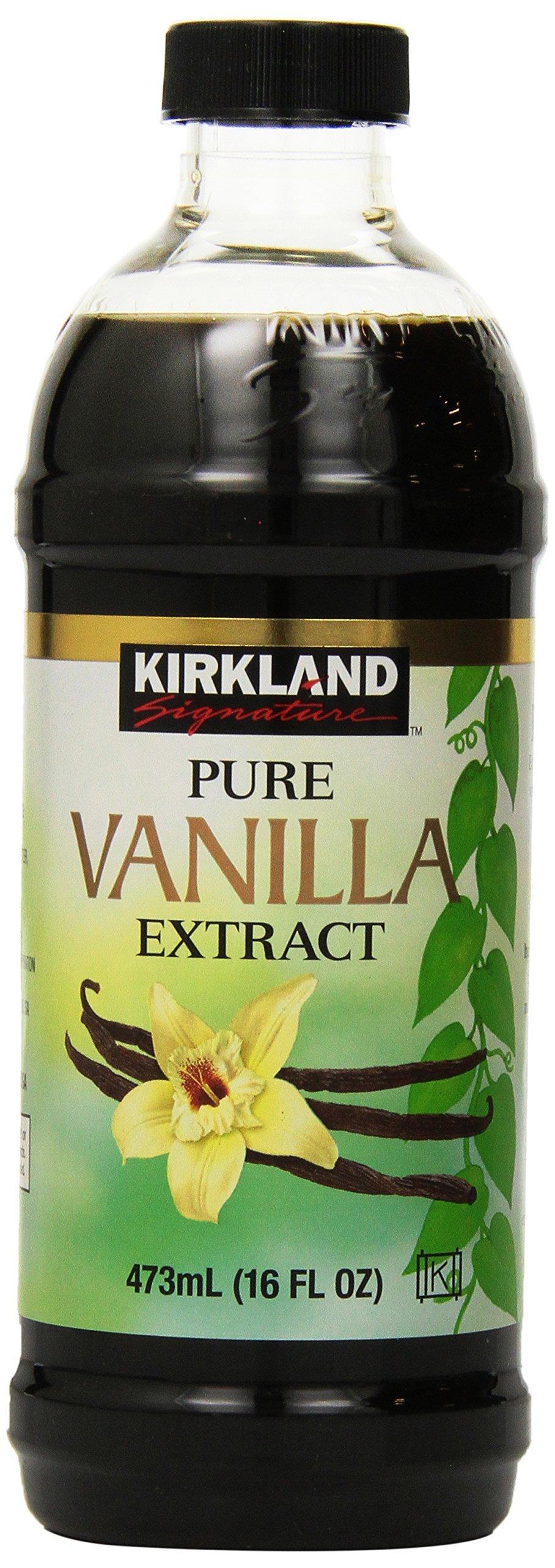 Kirkland Signature Pure Vanilla, 16 Ounce