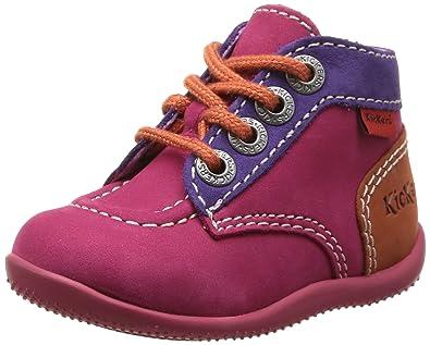 Kickers Bibounow, Chaussures Bébé marche fille (25)