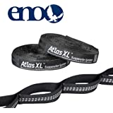 ENO Eagles Nest Outfitters - Atlas XL Hammock Straps, Suspension System, Black