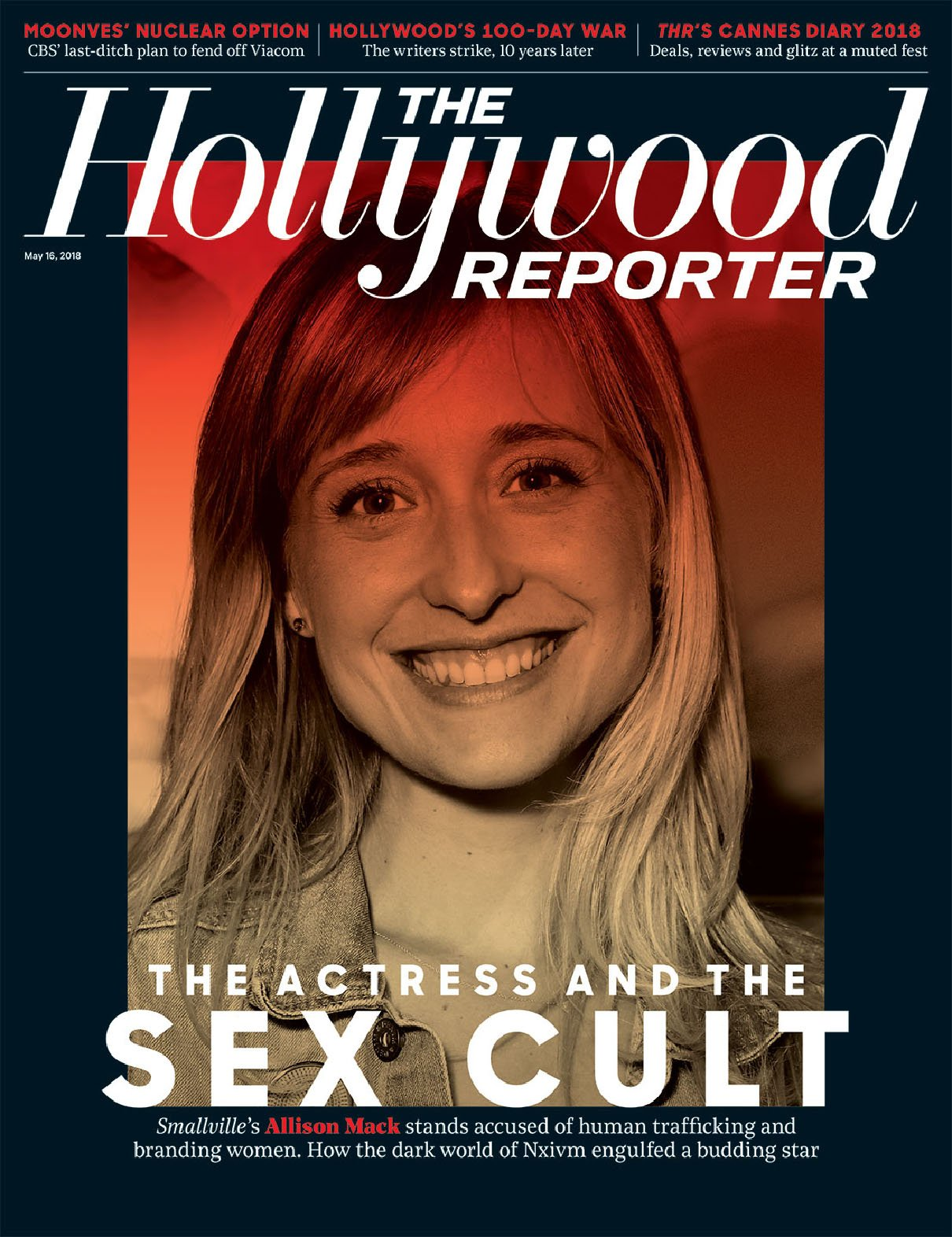Download The Hollywood Reporter Magazine (May 16, 2018) The Actress and the Sex Cult Cover pdf epub