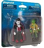 PLAYMOBIL Vampire & Frankestein Playset, Multicolor