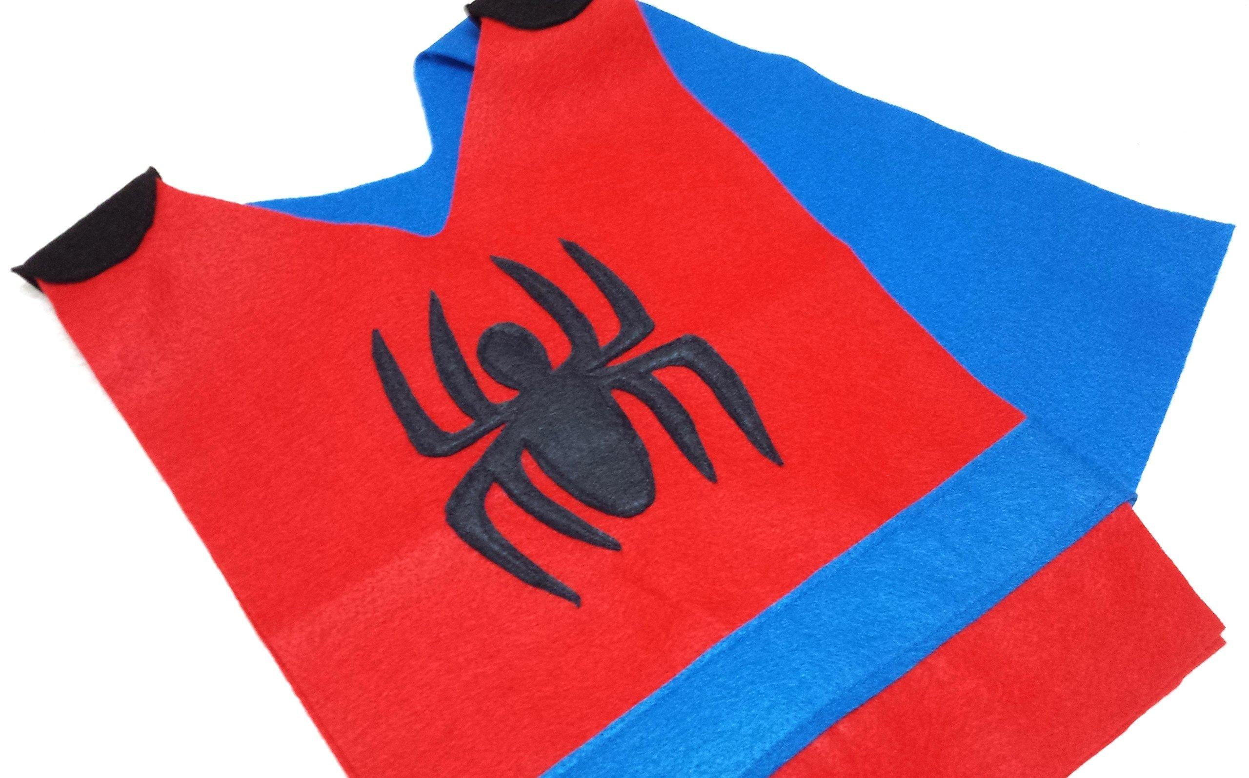 Kids Spider-Man Costume Tunic (Marvel/Avengers/Infinity War) - Baby/Toddler/Kids/Teens/Adult Sizes