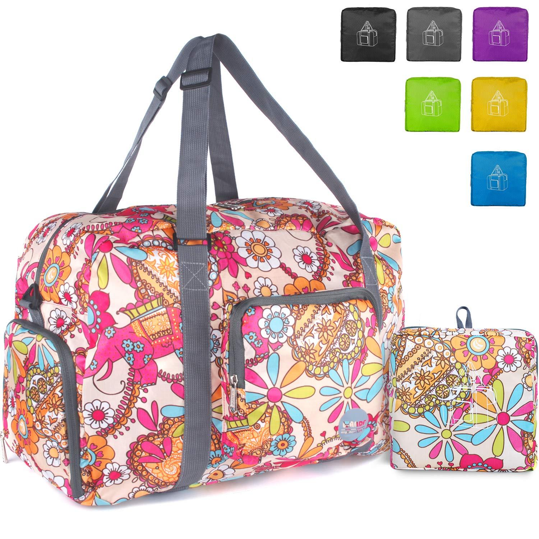 72b59716971 Wandf Foldable Travel Duffel Bag Luggage Sports Gym Water Resistant Nylon  product image