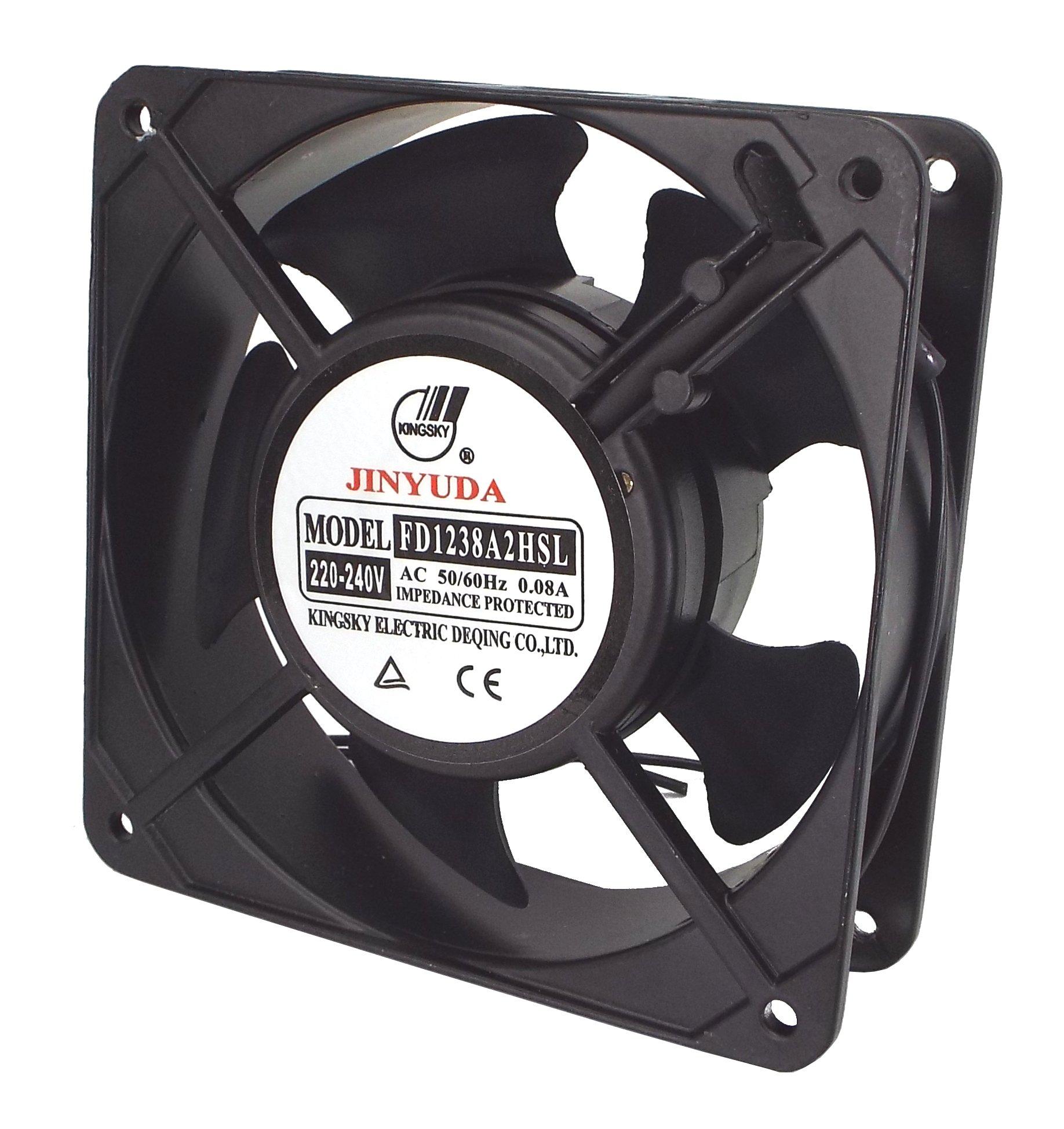 CNAweb Cooling Fan Sleeve Bearing 120mm x 38mm AC 220-240v FD1238A2HSL-Q