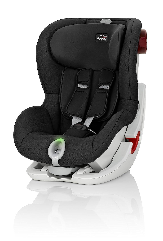 4 Jahre I 9-18 kg I KING II Autositz Gruppe 1 I Cosmos Black Britax R/ömer Kindersitz 9 Monate