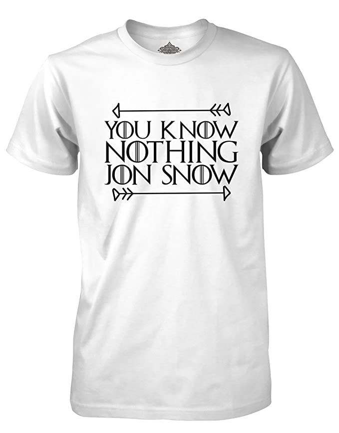 1 opinioni per YOU KNOW niente JON neve T-Shirt