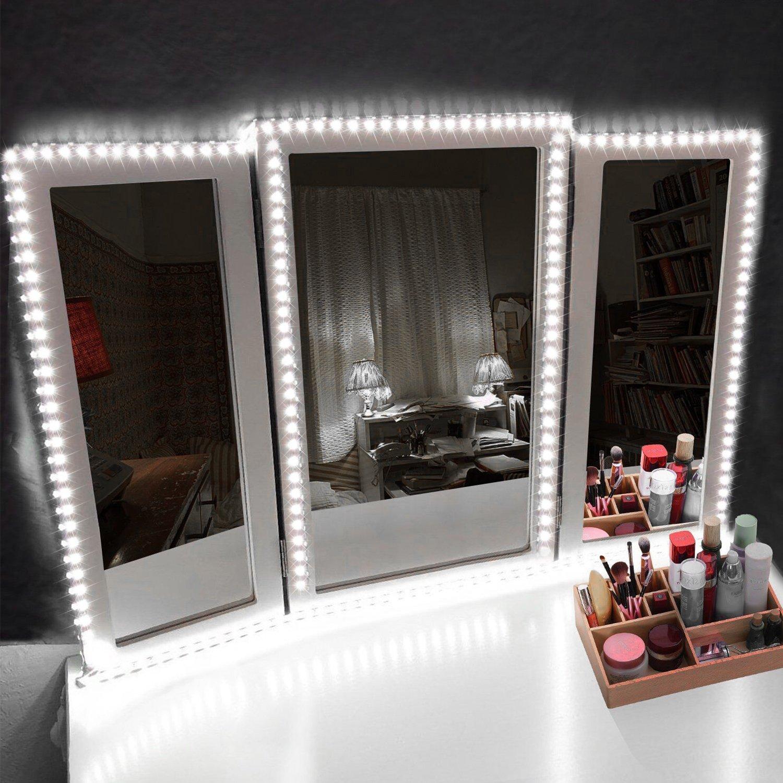 Amazoncom Led Vanity Mirror Lights Kit Make Up Mirror Light Strip