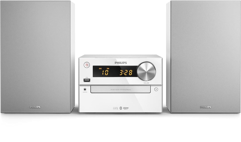 Philips BTM2312/12 Home Audio Micro System 15W Plata Sistema ...