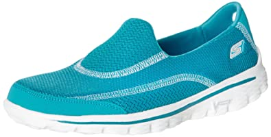 9d2cf218cc35d Skechers Women''s Go Walk 2 Athletic Sandals: Amazon.co.uk: Shoes & Bags