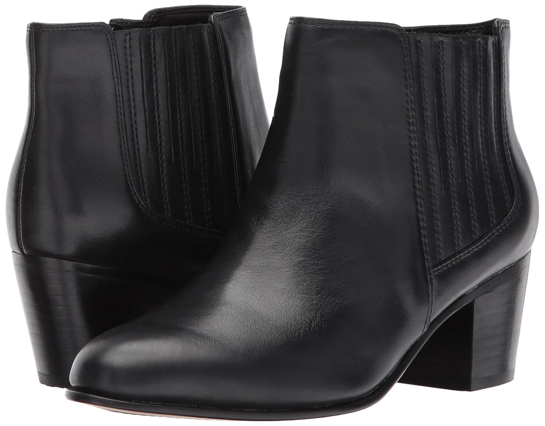 CLARKS Women's B01N6J6GKY Maypearl Tulsa Ankle Bootie B01N6J6GKY Women's 8.5 B(M) US|Black Leather 9ece6c