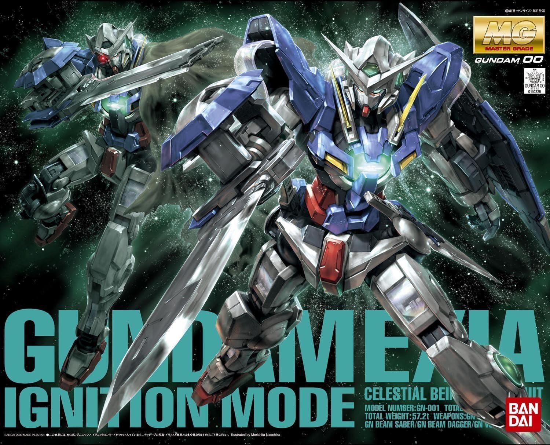 "Bandai Hobby MG Gundam Exia (Ignition Mode) Gundam 00"""