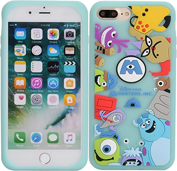 Iphone 8 Funda Iphone 7 Funda Dmaos Divertido Dibujos Anim