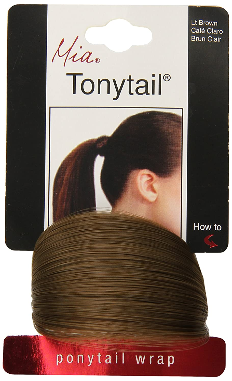 Mia Beauty Tonytail Wrap, Dark Brown, 0.05 Ounce The Tonytail Company Inc. 00007