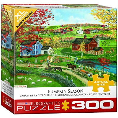 EuroGraphics 5387 Pumpkin Season Puzzle (300 Piece): Toys & Games