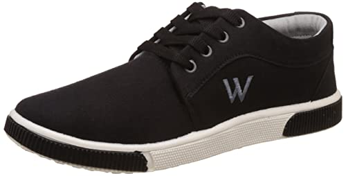 3e72053fb5e30 Scatchite Men s Black Casual Shoes - 7  Buy Online at Low Prices in ...