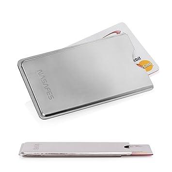 0dd053c92f9 Metal Credit Card Holder - Handmade - Ultra Thin 0.15 inch - RFID Credit  Card Protector