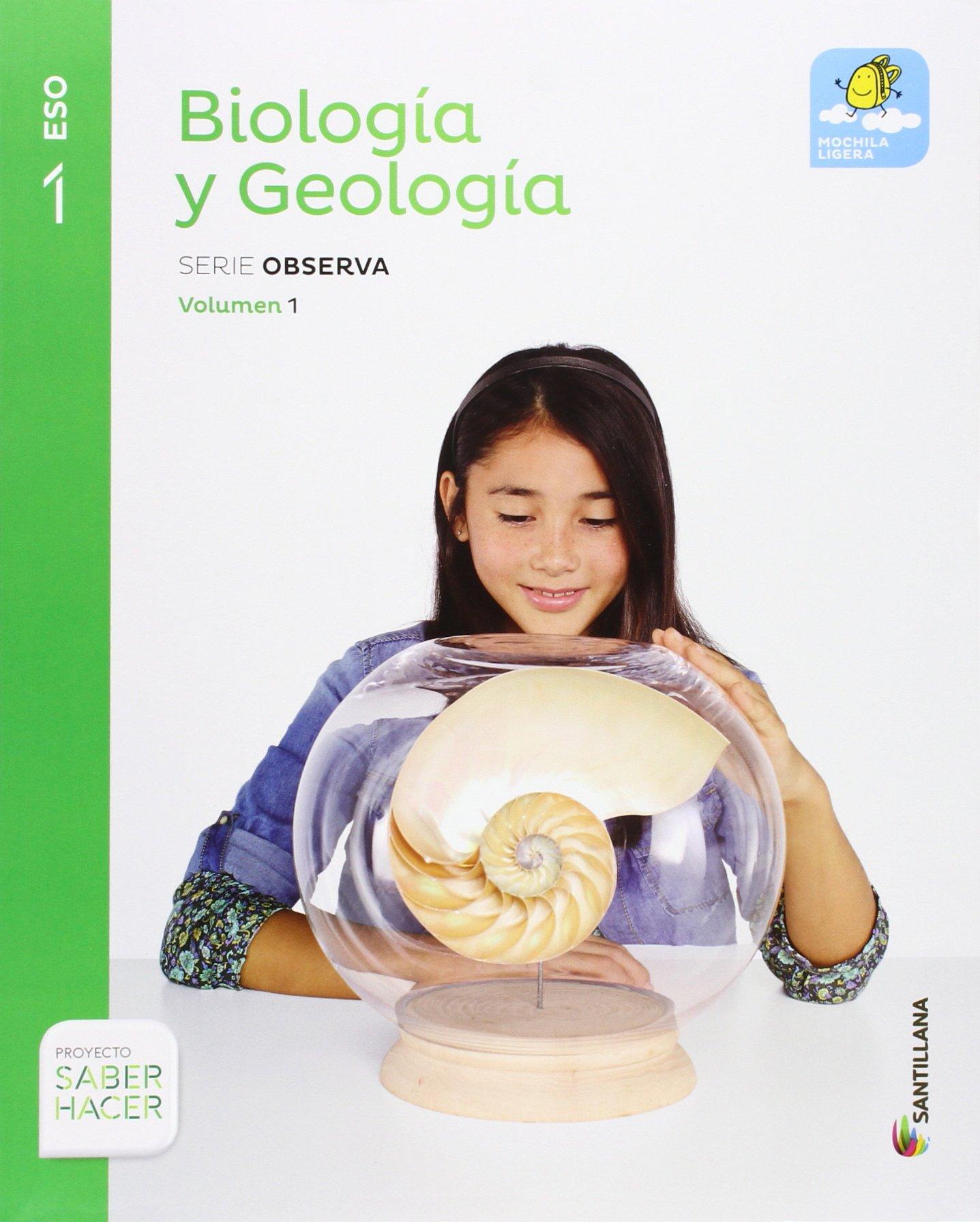 Biología Y Geología Mochila Ligera Serie Amazon Es Vv Aa Libros
