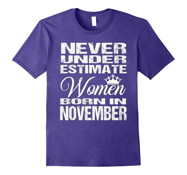 Woman Born in November Shirt-FL