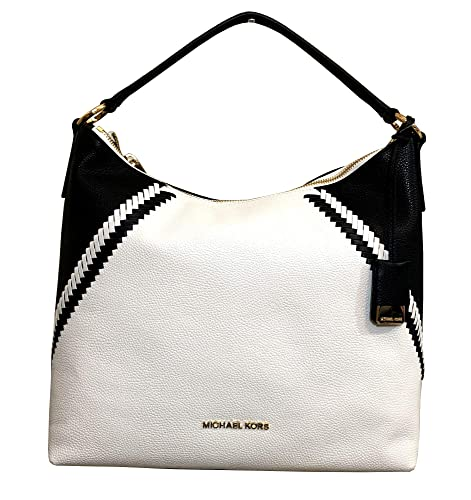 1a7955d68315 Amazon.com: Michael Kors Karson Pebbled Leather Hobo: Shoes