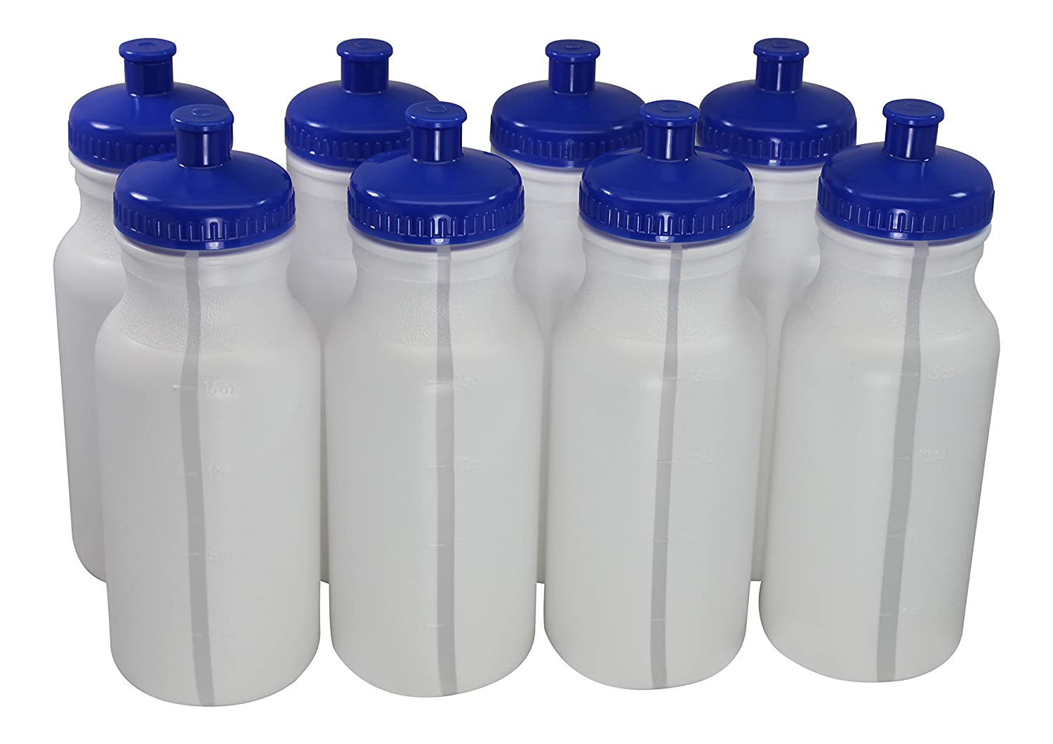Sports Squeeze Plastic Water Bottles Push pull Cap 20 ...