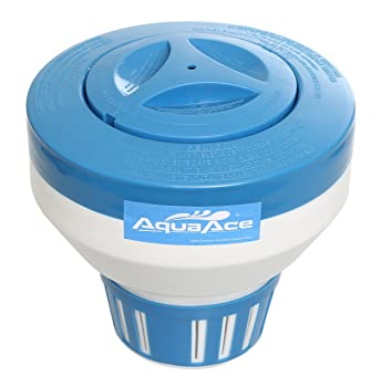 AquaAce Floating Pool Chlorine Dispenser