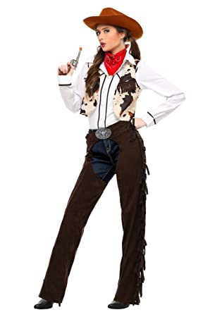 Adult Cowgirl Chaps Plus Size Fancy Dress Costume 2x Amazon