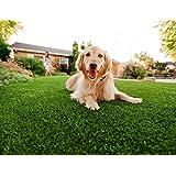 Efivs Arts Artificial Grass Indoor/Outdoor Area Rug Lawn Mat for Party Decoration Pet Fake Grass Turf Nursery Area Carpet, 6.5 x 8 Feet