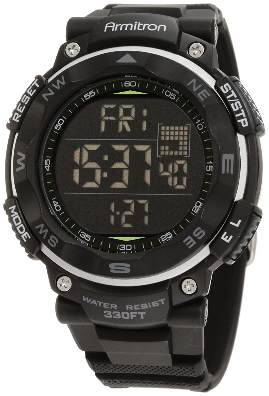 amazon com armitron sport men s 40 8254blk black digital amazon com armitron sport men s 40 8254blk black digital chronograph watch watches