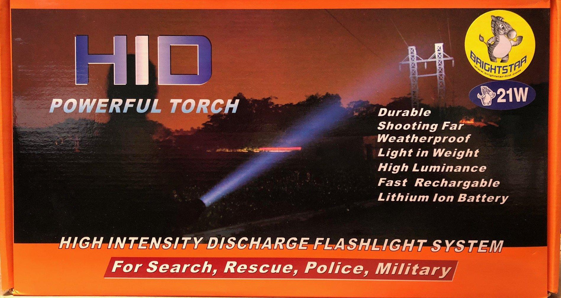 Brightstar 21W Professional HID Flashlight
