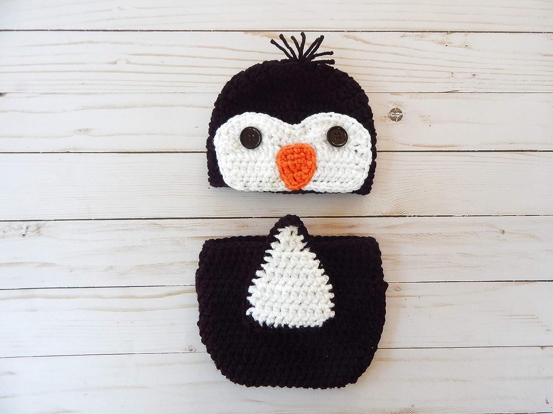 Amazon Crochet Newborn Penguin Outift Crochet Newborn Penguin