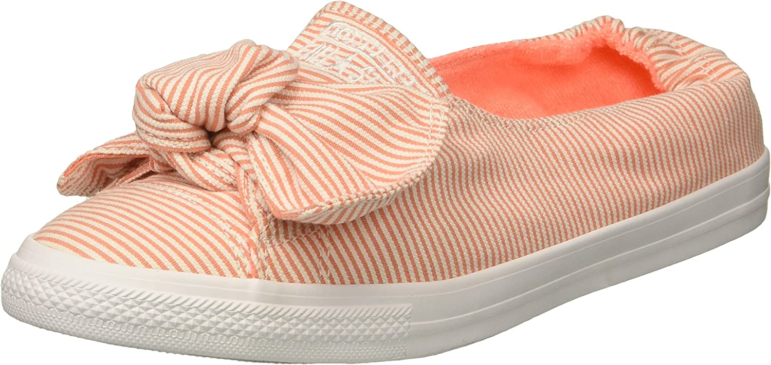 Knot Striped Chambray Slip on Sneaker