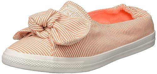 5ea922d7e40b Converse Chucks 560674C Orange Chuck Taylor All Star Knot - Slip Crimson  Pulse White