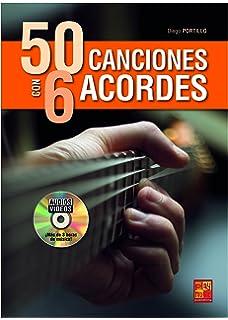 50 canciones con 6 acordes - 1 Libro + 1 Disco (Audios/Vídeos)