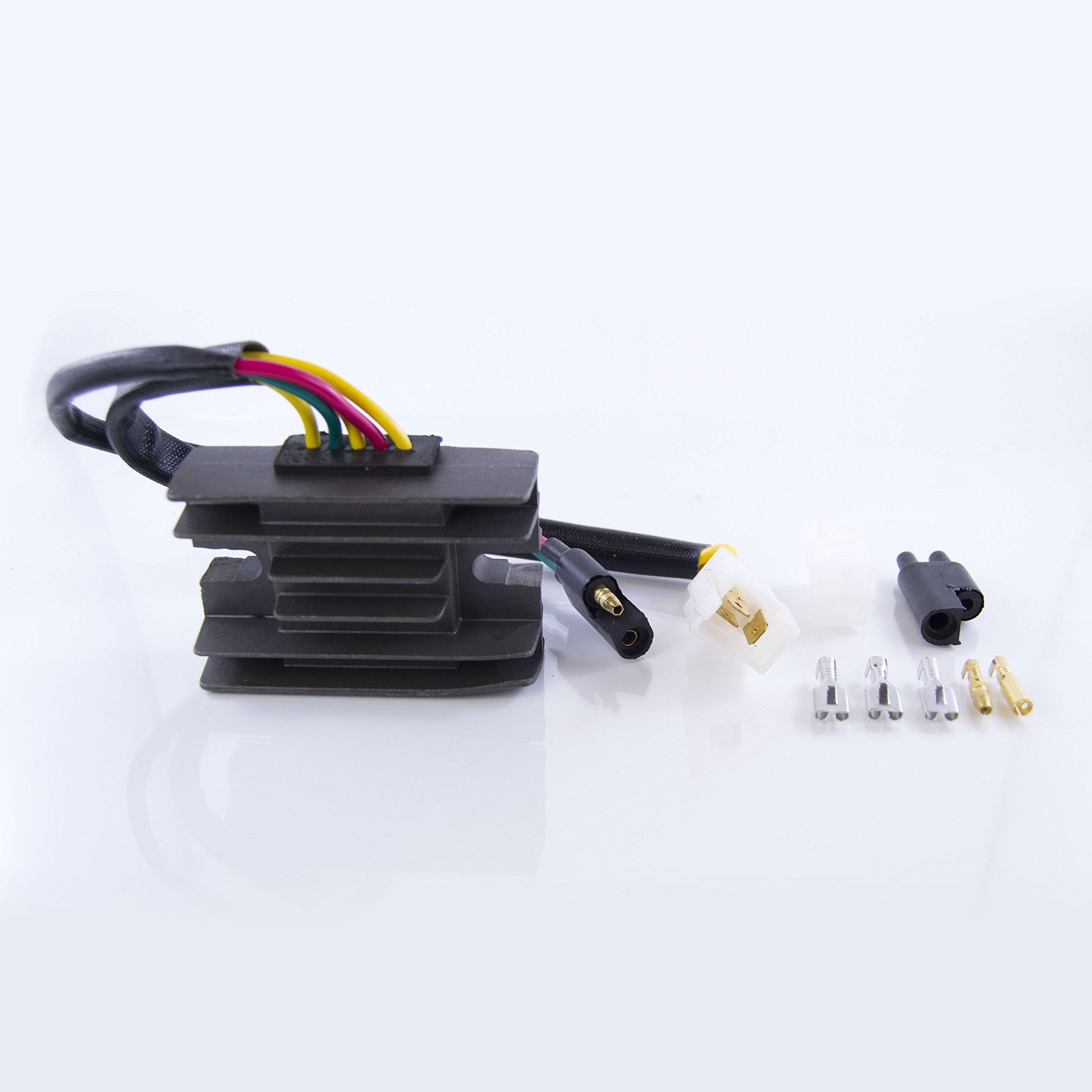 Voltage Regulator Rectifier For Arctic Cat 400 500 2x4 / 4x4 / Manual 2000 2001 OEM Repl.# 0530-006 0530-137 by RMSTATOR