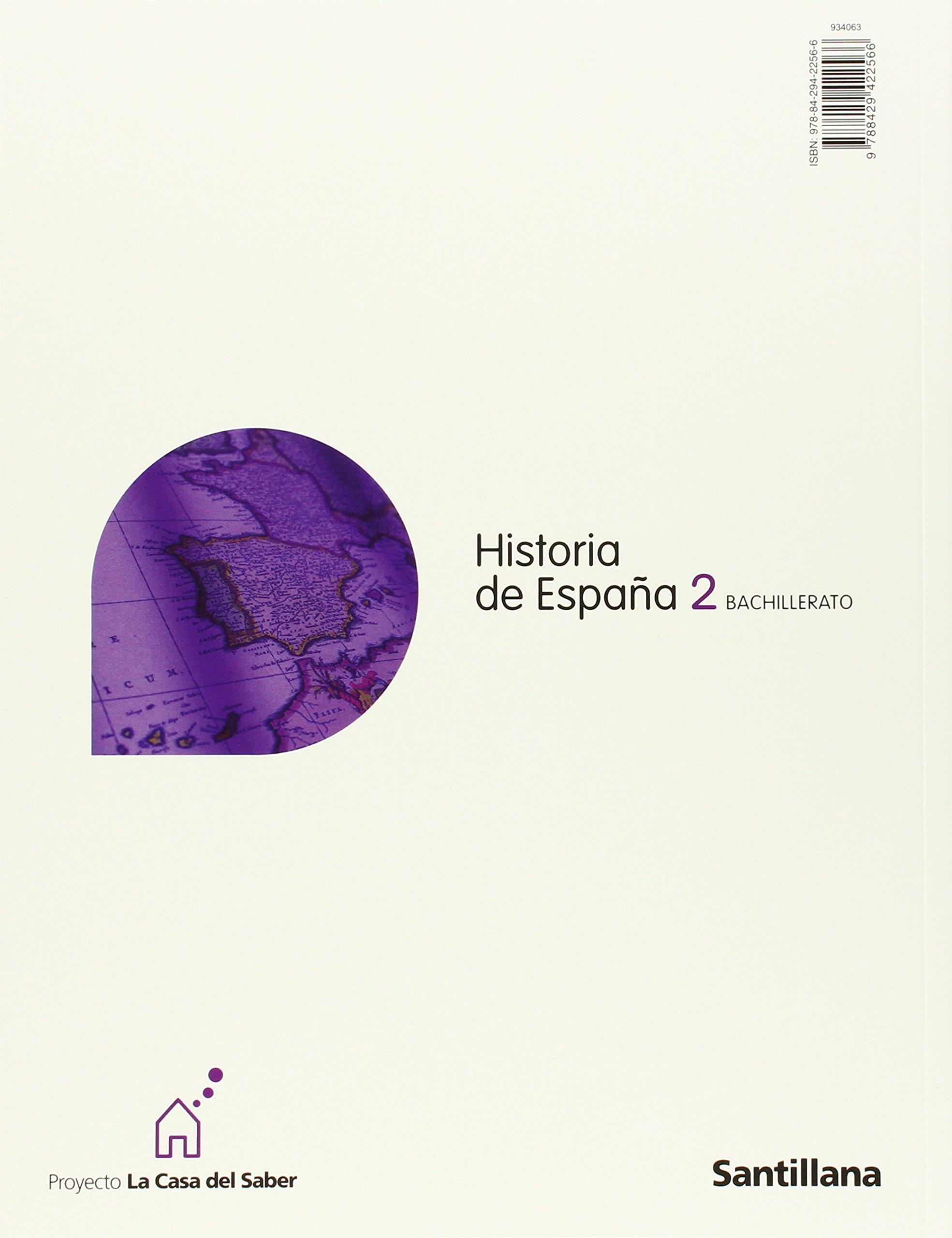 Historia de España Com. Valenciana Cast 2 Bachillerato La Casa Del Saber - 9788498073171: Amazon.es: Aa.Vv.: Libros
