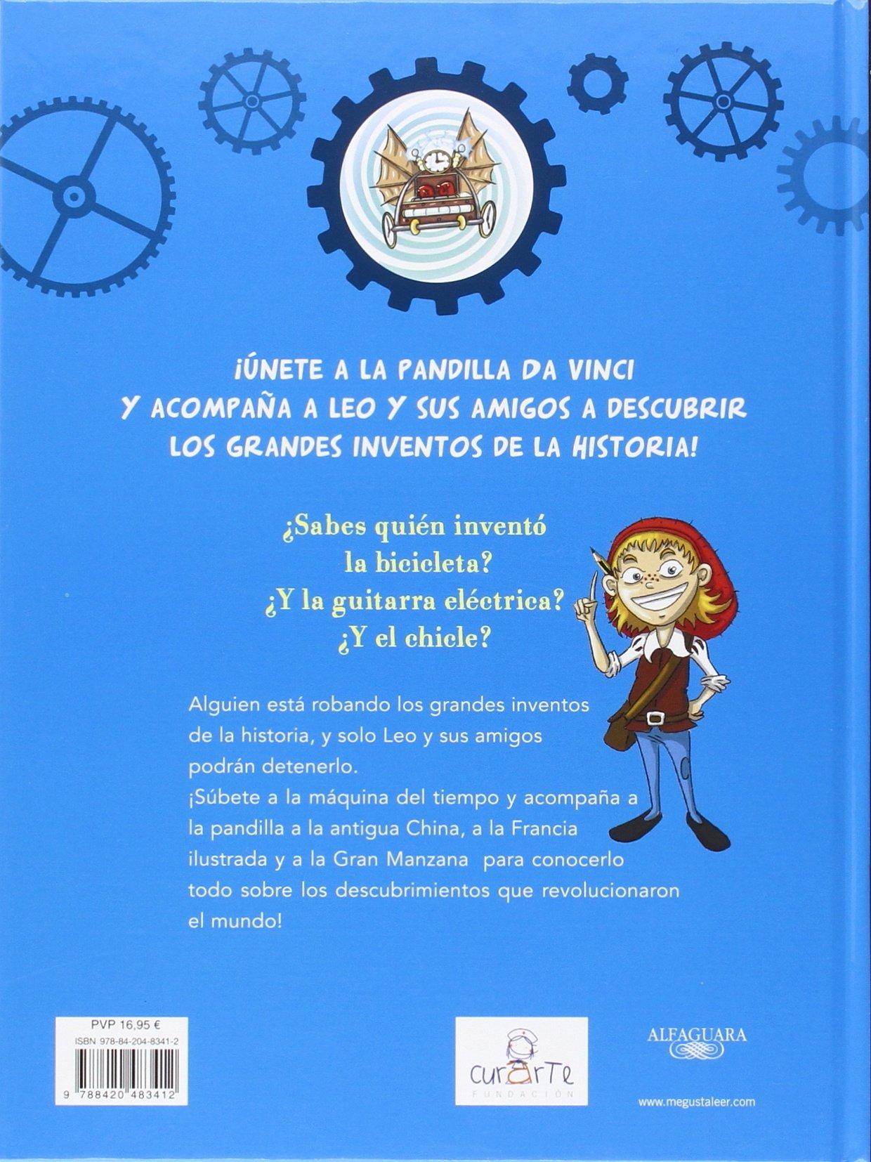 El gran libro de inventos del pequeño Leo Da Vinci (El pequeño Leo Da Vinci): CHRISTIAN GALVEZ: 9788420483412: Amazon.com: Books