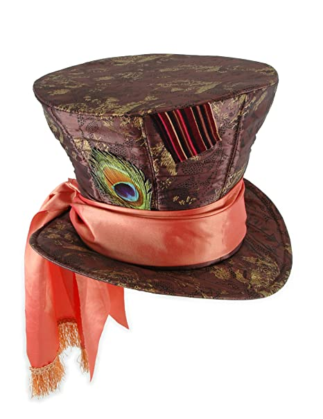 Amazon.com  Disney Mad Hatter Hat for Adult Men and Women by elope  Clothing 26bf63dbf72