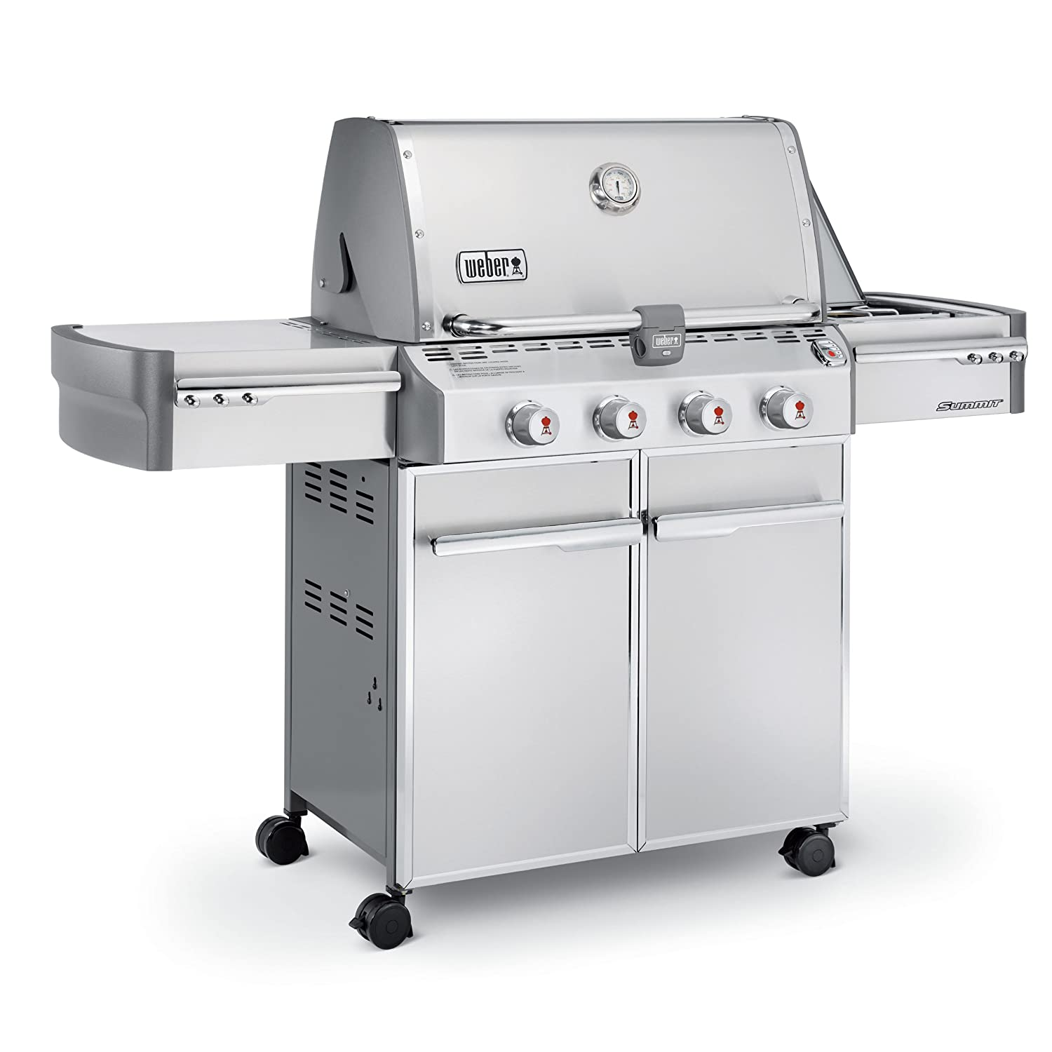 weber summit s 420 stainless steel 538 square