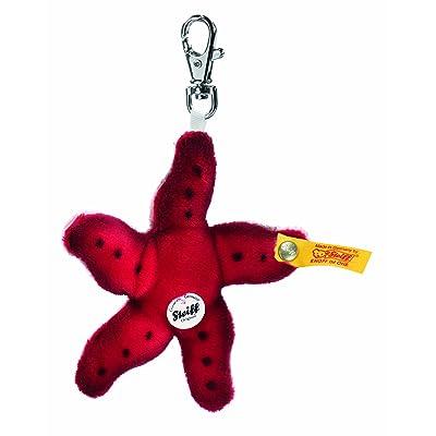 Steiff Keyring Piccy starfish, red Plush Animal: Toys & Games