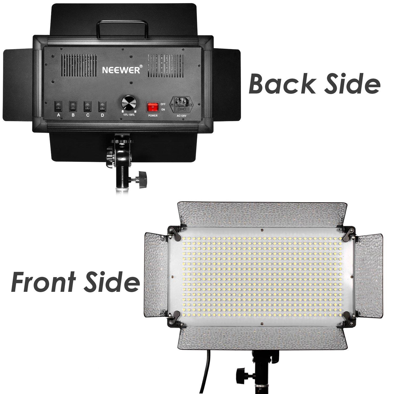 Studio Lighting Diffuser: Neewer 500 LED Photo Studio Lighting Panel, Diffuser, 2