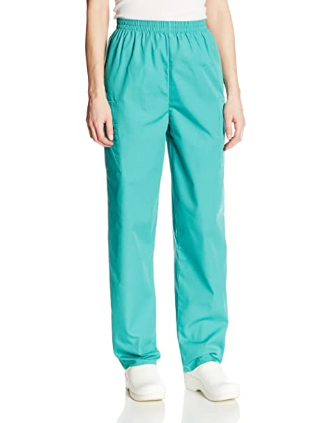 e50ab371bcd Cherokee Women's Workwear Elastic Waist Cargo Scrubs Pant, Surgical Green,  X-Small at Amazon Women's Clothing store: Medical Scrubs Pants