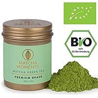 Matcha Moments [Aus Vogue Magazine] Bio Matcha Pulver Premium Grade 30g | Grüntee aus Japan | Fair und Nachhaltig | Pur Trinken | Mixen | Latte Smoothie Ice Tea