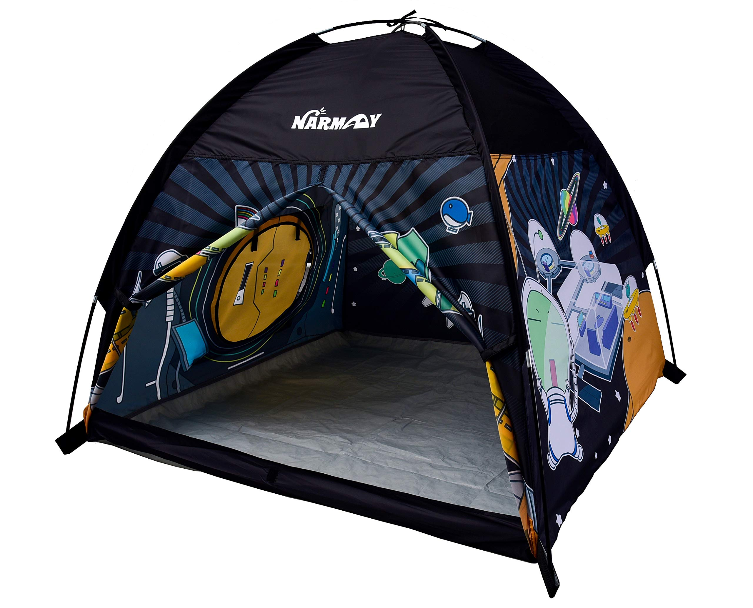 NARMAY Play Tent Space World Dome Tent for Kids Indoor / Outdoor Fun - 48 x 48 x 40 inch by NARMAY