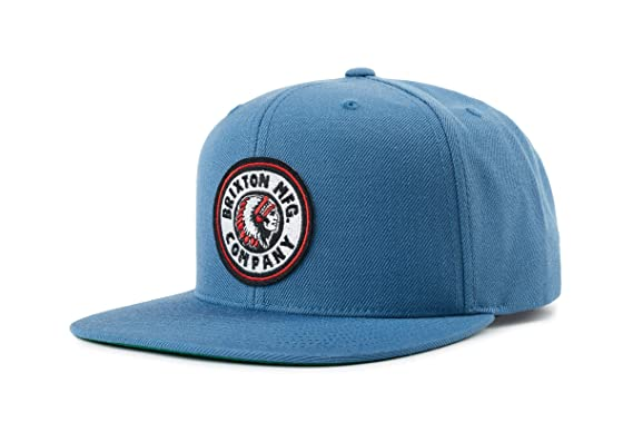 305494539e47f Amazon.com  Brixton Men s Rival Snapback