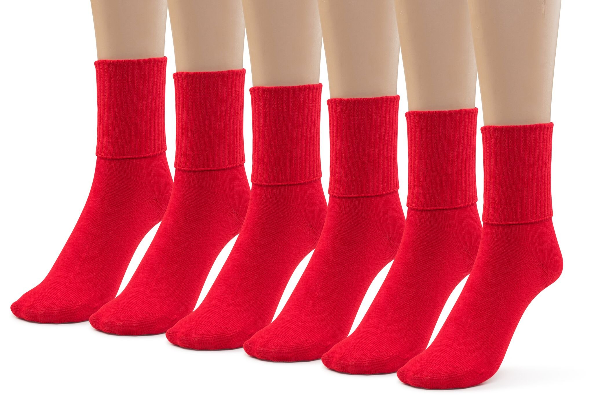 PUREMART Girls Boys School Uniform Classics Rib Athletic Kids Crew Socks 6 Pair Pack